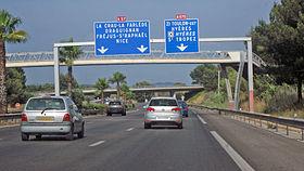Trafic: intrarea 44 in A8 din Antibes spre Italia este inchisa