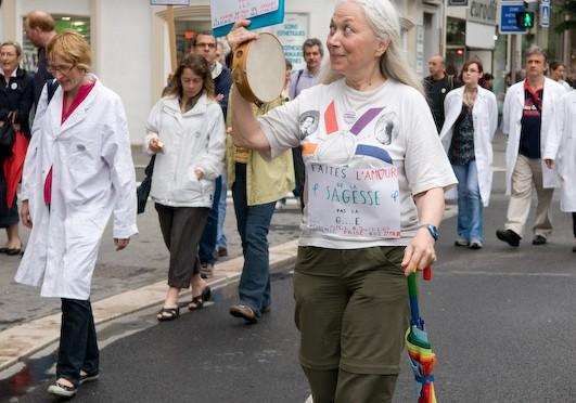 Greva profesiunilor liberale: peste 800 de persoane la Nice
