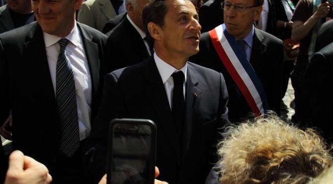 Nicolas Sarkozy in meeting la Nice in aceasta seara