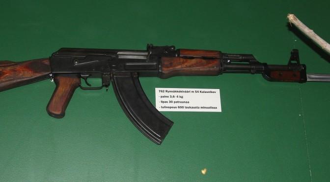 O importanta cantitate de arme gasita la Nice