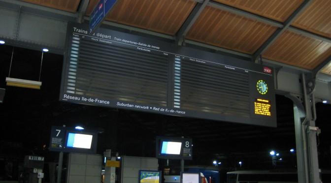 Greva SNCF astazi
