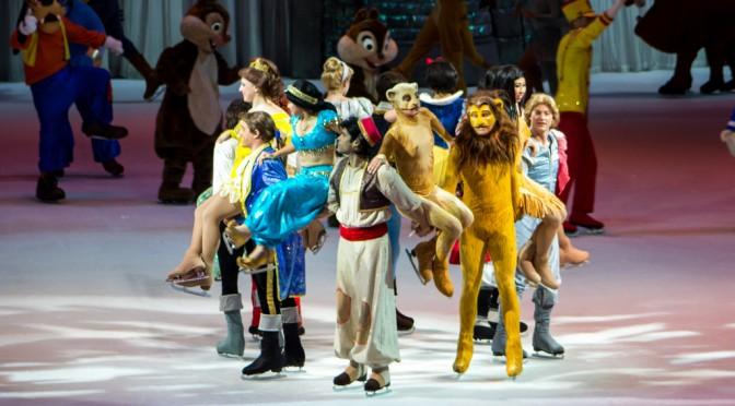 100 de ani de magie cu Disney pe gheata la Nisa